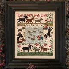Prairie Schooler Stickvorlage 3 Billy Goats Gruff