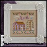 Country Cottage Needleworks Stickvorlage Cottage Of The Month April