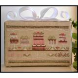 Country Cottage Needleworks Stickvorlage Party Cakes