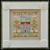 Country Cottage Needleworks Stickvorlage Cottage Of The Month May