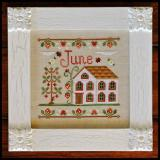 Country Cottage Needleworks Stickvorlage Cottage Of The Month June