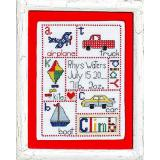 Bobbie G. Designs Stickvorlage Patchwork Baby Boy
