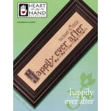Heart In Hand Needleart Stickvorlage Happily Ever After