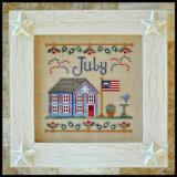 Country Cottage Needleworks Stickvorlage Cottage Of The Month July