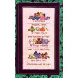 Childhood Memories Sampler - Stickvorlage Dragon Dreams Inc.