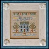 Country Cottage Needleworks Stickvorlage Cottage Of The Month August