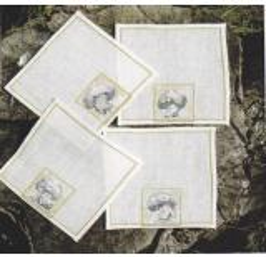 Champignon (4er Pack) - Stickpackung Fremme