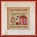 Country Cottage Needleworks Stickvorlage Cottage Of The Month September