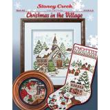 Christmas In The Village - Stickvorlage Stoney Creek
