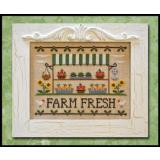 Country Cottage Needleworks Stickvorlage Farm Fresh