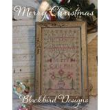 Blackbird Designs Stickvorlage Merry Christmas
