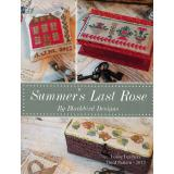 Blackbird Designs Stickvorlage Loose Feathers Summer's Last Rose