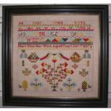 Black Branch Needlework Stickvorlage Mary Utley Sampler