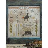 Pineberry Lane Stickvorlage Fancey Blackett Brooms