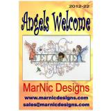MarNic Designs Stickvorlage Angels Welcome