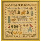 Elizabeths Designs Stickvorlage Antique Evergreen Sampler