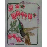 Magnificent Hummingbird 2012 - Stickvorlage Crossed Wing Collection