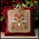 Little House Needleworks Stickvorlage Little Sheep Virtues Love