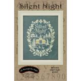 Silent Night -  Kreuzstichvorlage All Through The Night