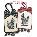 JBW Designs Stickvorlage Alphabet Cats