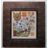 Stickvorlage Kathy Barrick Cat And Mouse