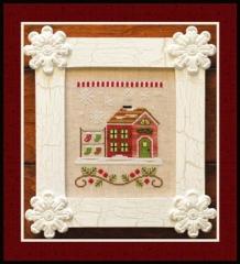 Country Cottage Needleworks Stickvorlage Santas Village Santas Stocking Store