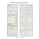 CW Designs Stickvorlage ABC Samplers Of Christmas 1
