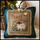 Little House Needleworks Stickvorlage Little Sheep Virtues Peace