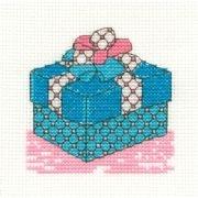 Birthday - Stickpackung DMC Geschenk