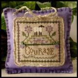 Little House Needleworks Stickvorlage Little Sheep Virtues Courage