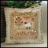 Little House Needleworks Stickvorlage Little Sheep Virtues Simplicity