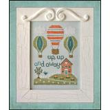 Country Cottage Needleworks Stickvorlage Up Up And Away