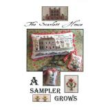 The Scarlett House Stickvorlage A Sampler Grows