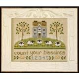 Country Cottage Needleworks Stickvorlage Count your Blessings