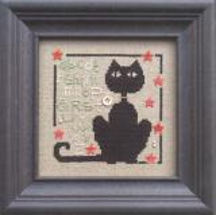 The Trilogy Stickvorlage Happy Black Black Cat Day
