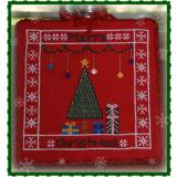 Lindsay Lane Designs Stickvorlage Merry Christmas