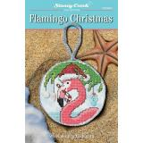 Stoney Creek Stickvorlage Flamingo Christmas