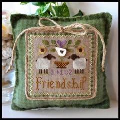Little House Needleworks Stickvorlage Little Sheep Virtues Friendship
