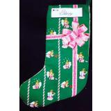 Angel Stocking - Stickvorlage Xs and Ohs