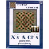 Xs and Ohs Stickvorlage Fantasy Chess Set