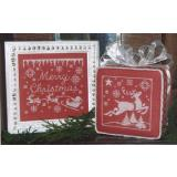 Merry Christmas: One Color Wonders - Stickvorlage Waxing Moon