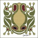 Squamish Frog - Stickvorlage The Stitching Studio