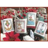 Stickvorlage Designs by Lisa Seaside Christmas