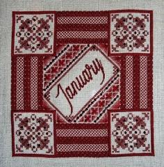 Northern Expressions Needlework Stickvorlage Garnet