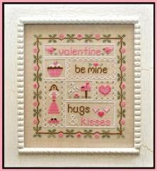 Be My Valentine - Stickvorlage Country Cottage Needleworks