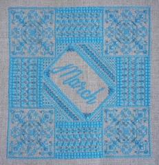 Northern Expressions Needlework Stickvorlage Aquamarine March