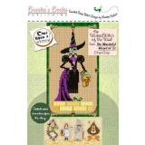 Brookes Books Stickvorlage Wonderful Wizard Wicked Witch