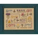 Elizabeths Designs Stickvorlage Antique Bee Sampler