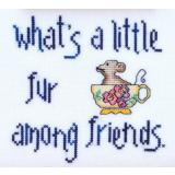 MarNic Designs Stickvorlage Whats A Little Fur Amoung Friends