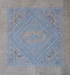 Northern Expressions Needlework Stickvorlage April Birthstone Diamond